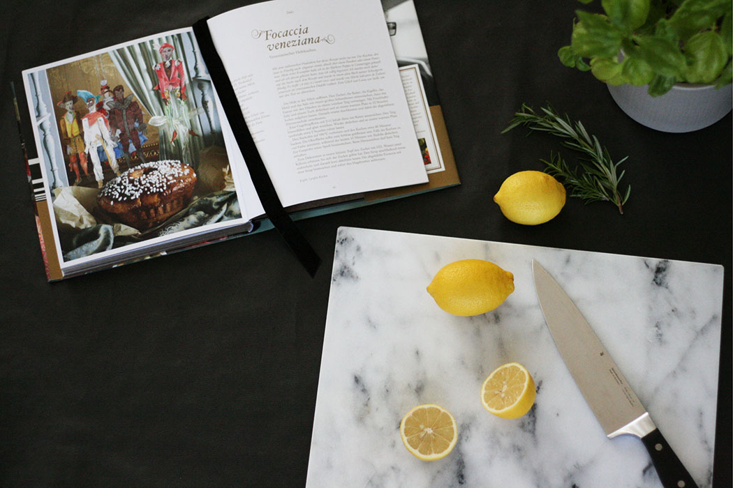 Coffeetable Books in the Kitchen