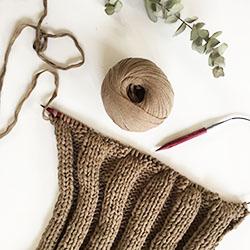 Wolldecke selber stricken - lindaloves.de DIY Blog aus Berlin
