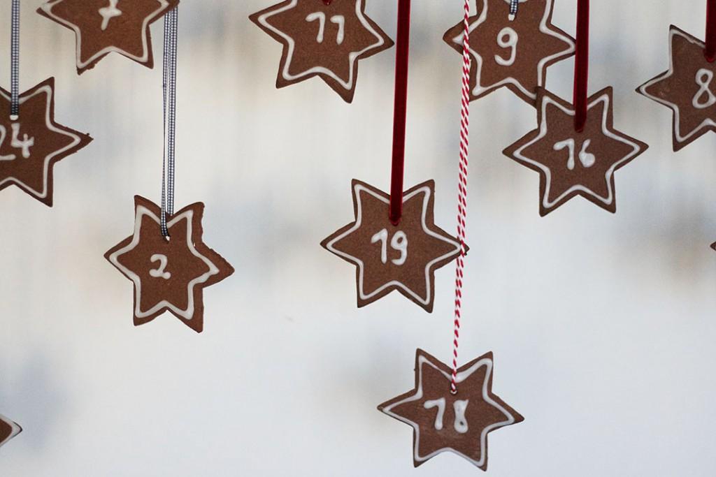 Adventskalender basteln - Weihnachten DIY - Lebkuchen backen - Adventskalender zum essen - DIY Blog lindaloves
