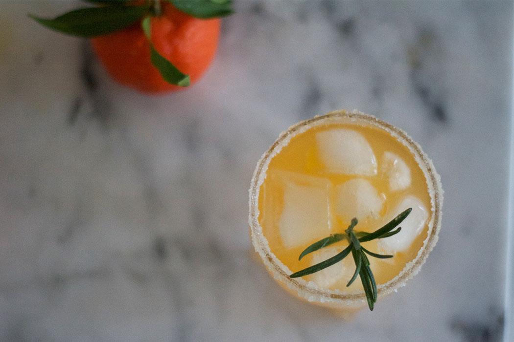 Clementinen Cocktail mit Rosmarin - DIY Rezept