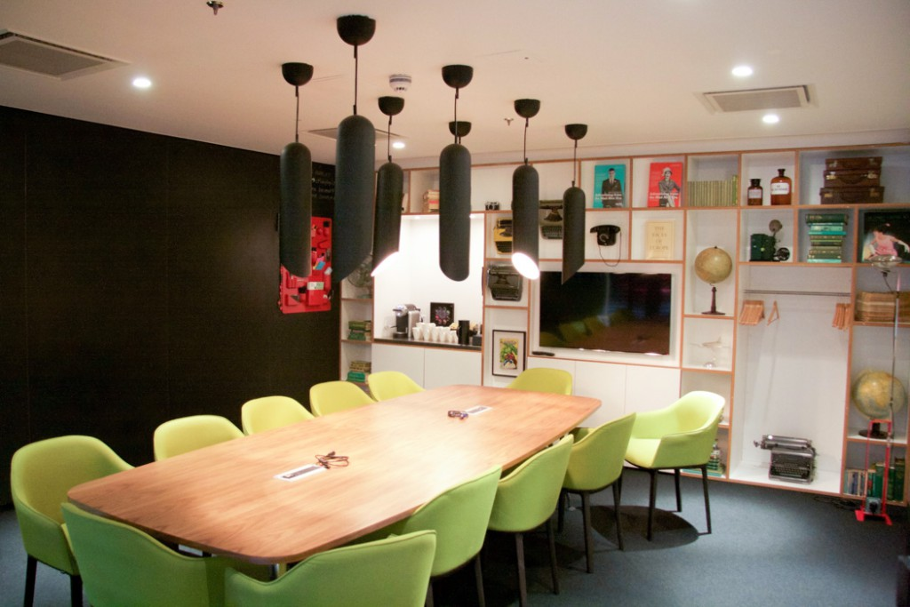 Citizen M Hotel London Meeting Room
