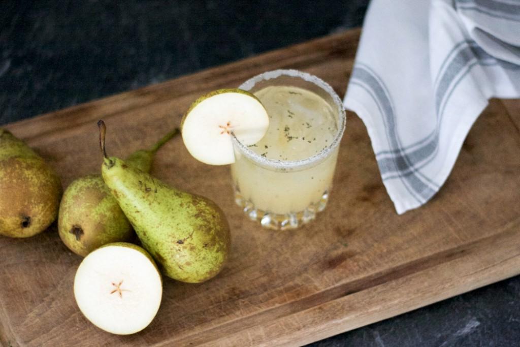 Birne Vanille Rezept - Herbst Cocktail