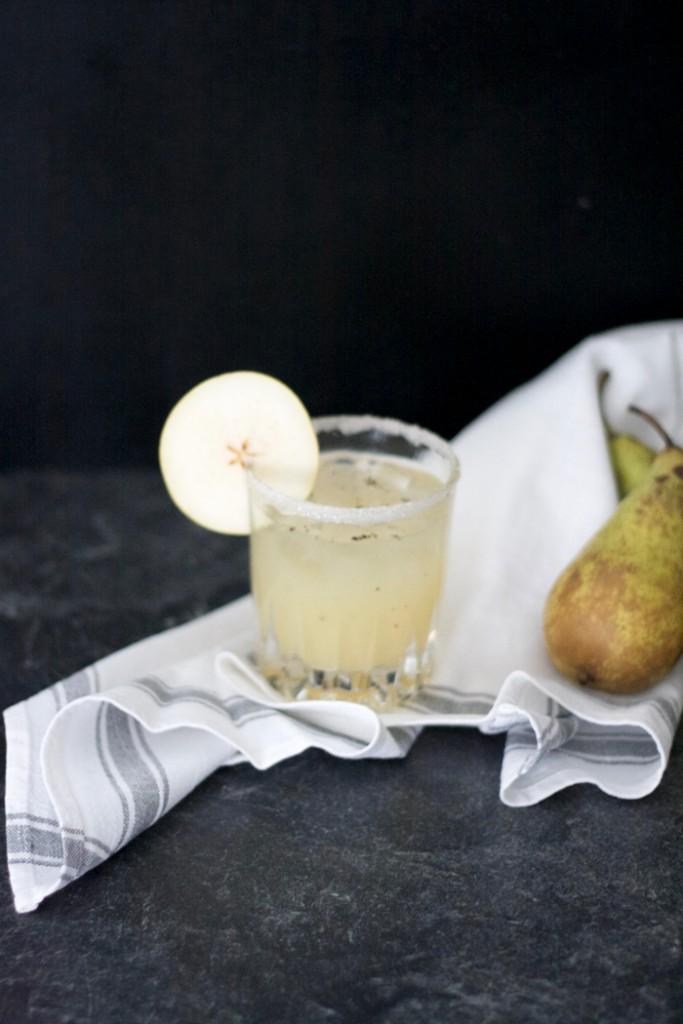 Birne Vanille Cocktail selber machen