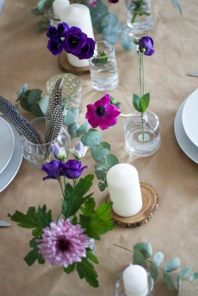 Tischgedeck Frühling