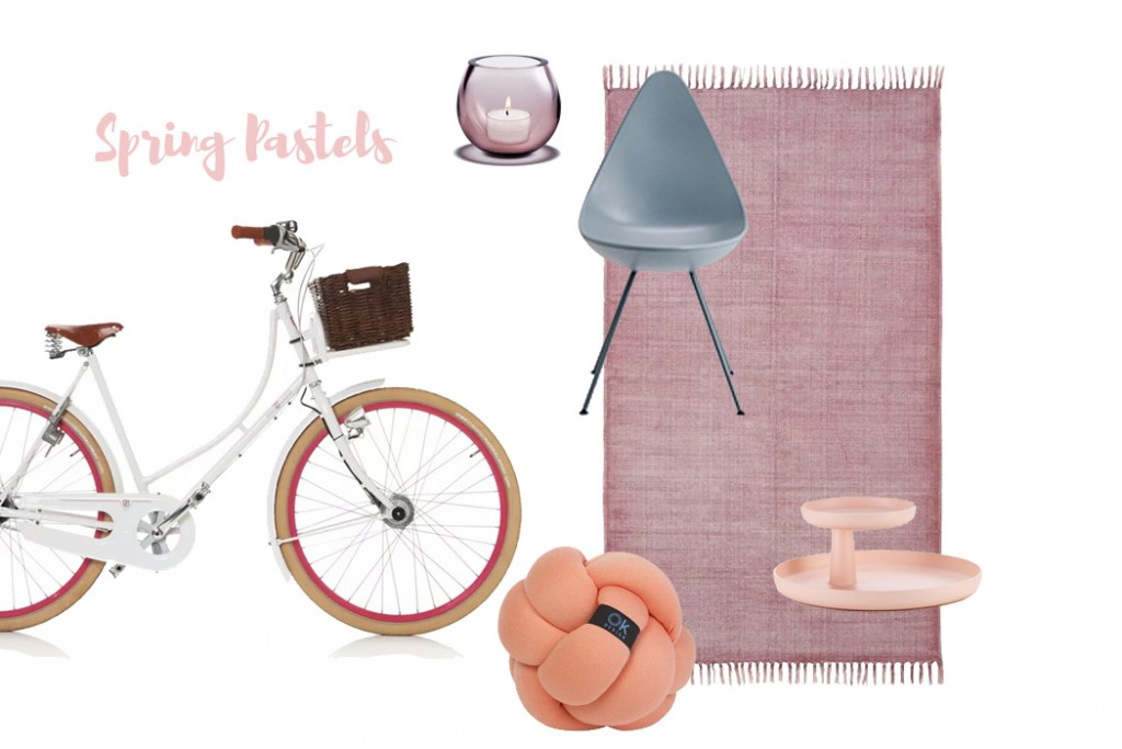 About trends and spring pastels - Kollage