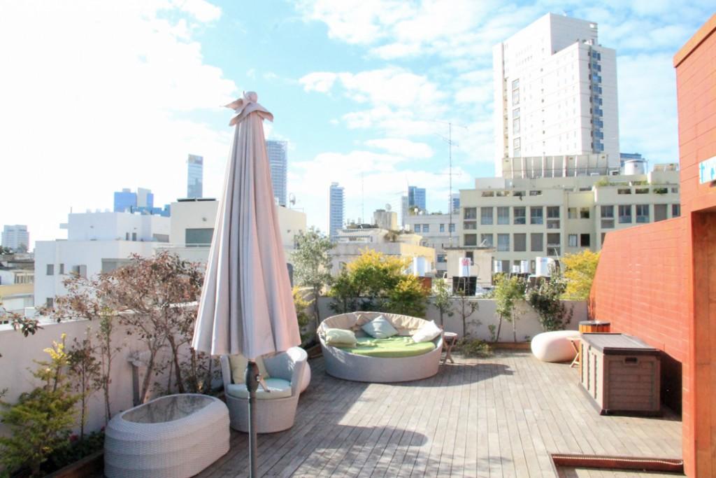 Shenkin Hotel Tel Aviv Rooftop