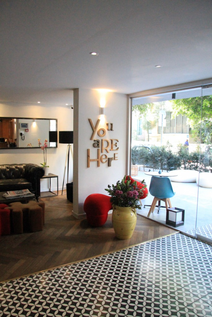 Shenkin Hotel Tel Aviv Entrance area