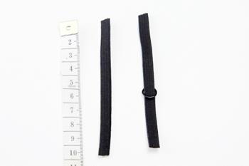DIY schwarzes Spitzen Bralette selber machen Anleitung