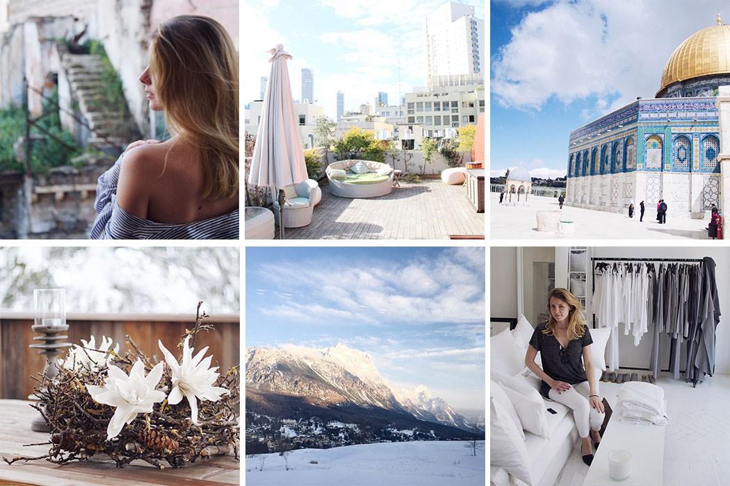 Israel und Ski Rückblich im März - Monatsrückblick lindaloves DIY & Deco