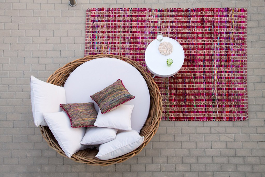 Spanische Outdoor Deco in pink - lindaloves.de