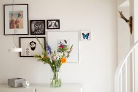 Bilderwand mit Blumen von Bloomon - lindaloves.de Blumen Deco Inspiration