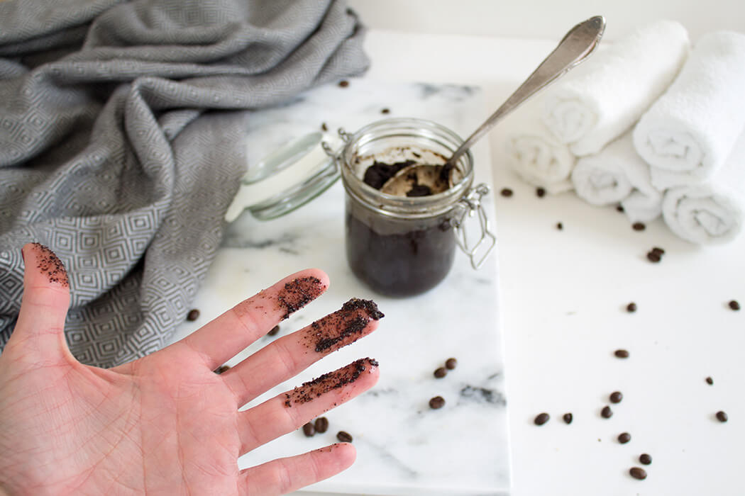 Anleitung für Kaffeepeeling - DIY Blog lindaloves.de
