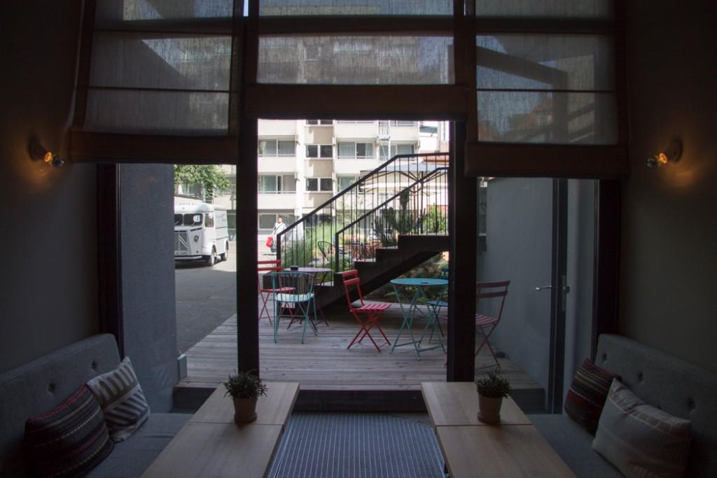 Blick nach draußen - Hotel Review - Bold Hotel München - Lindaloves.de