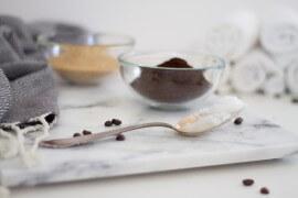 DIY Kosmetik - Kaffee Peeling selber machen - Geschenkidee für Mama - DIY Blog lindaloves