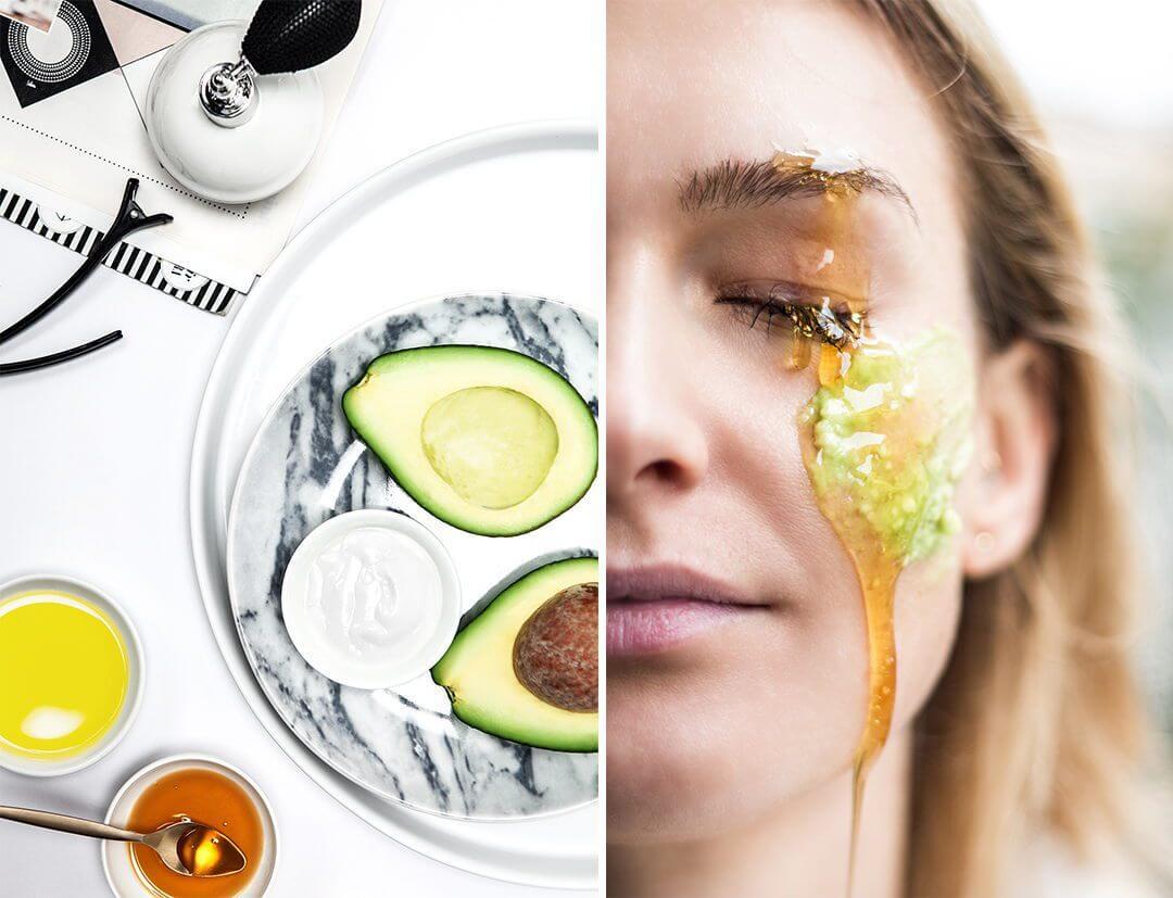 Elina Bare Minds_Gesichtsmaske fuer trockene Haut mit Avocado selber machen