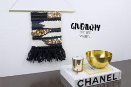 Verlosung Wandteppich weben DIY SET - Geschenkidee