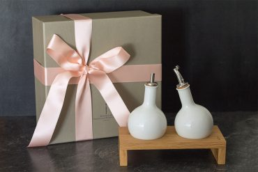 KPM Bulb Öl und Essig Set + Kräuteröl selber machen Anleitung DIY - persönliche Geschenkidee - DIY blog lindaloves