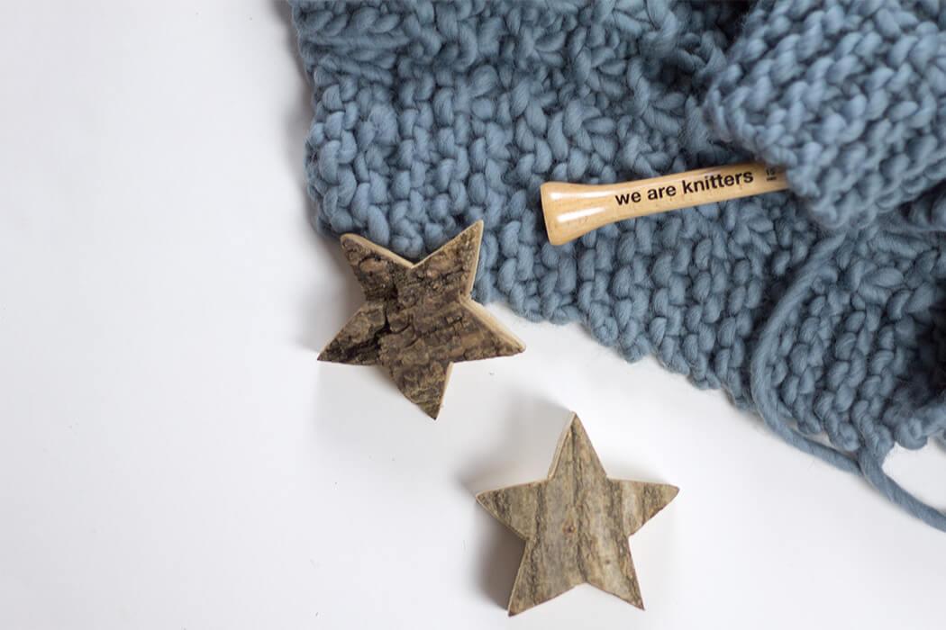 weareknitters Decke Stricken DIY selber machen