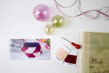 Yubinuki japanische Armreifen sticken DIY Set - Geschenk selbstgemacht