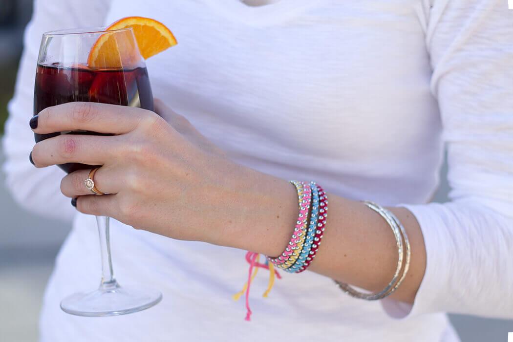 Armbändchen aus Kugelkette DIY Anleitung zum selber machen