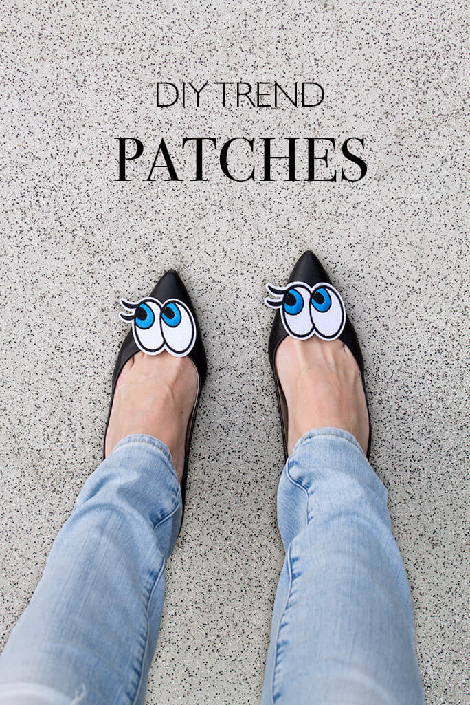 do-it-yourself Patches einfachster Basteltrend - DIY Blog