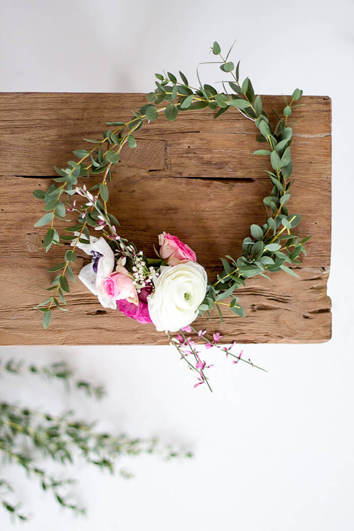 Blumenkranz für die Haare - HochzeitsDIY - Anleitung zum selbermachen