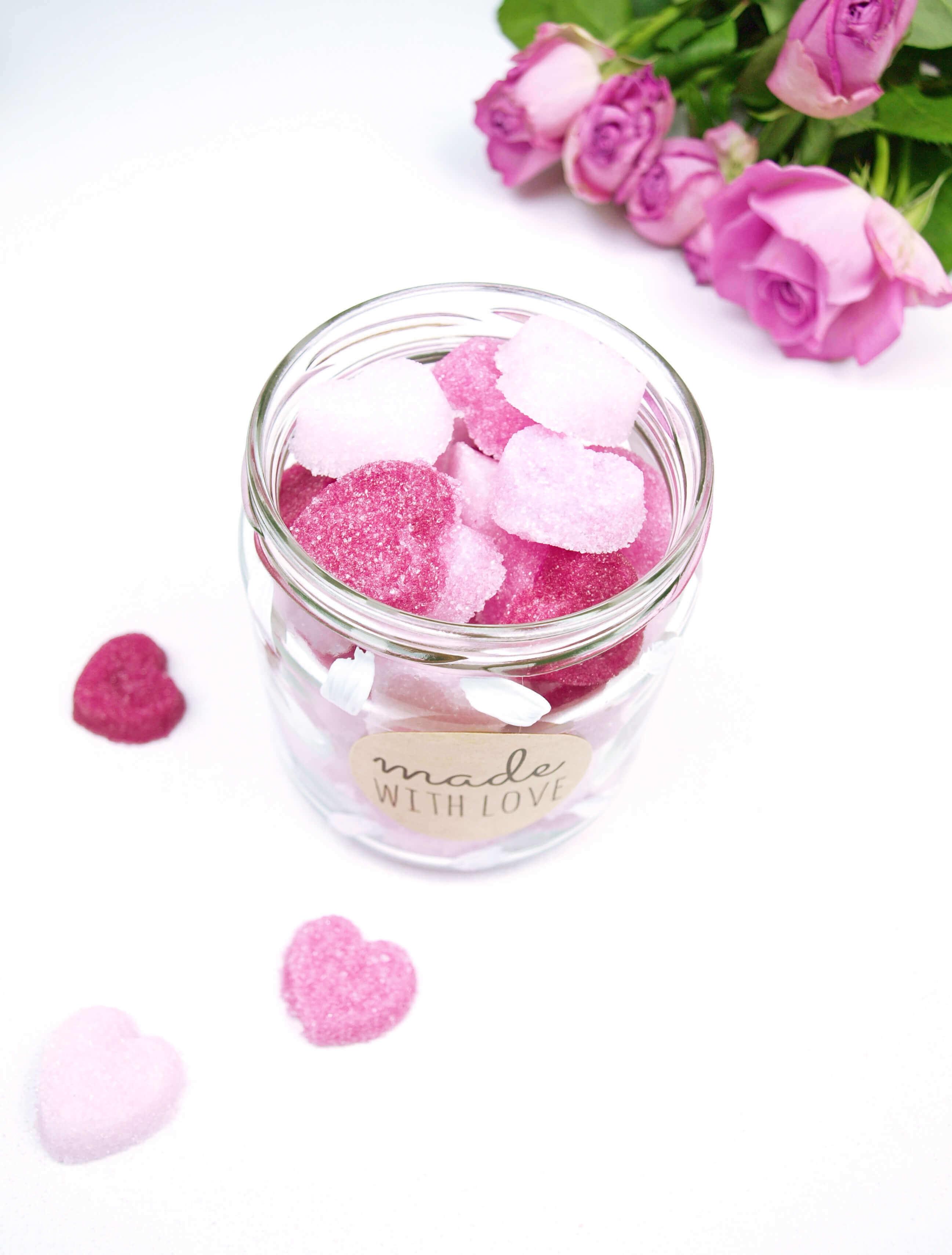 diy blog frauliebling geschenkidee zuckerherzen_Muttertagsgeschenke selber machen Frau-Liebling