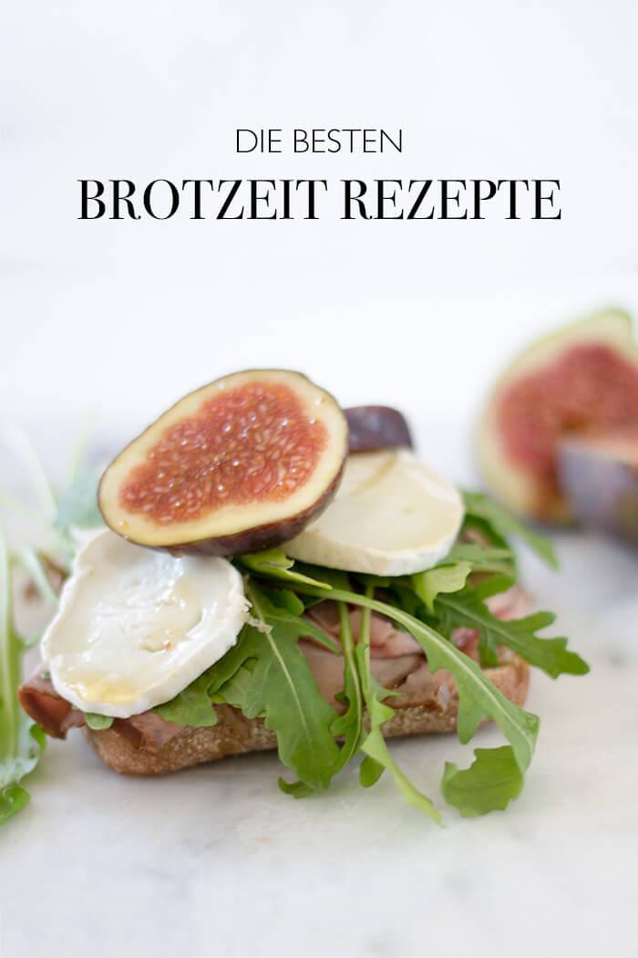 Brotzzeit Rezept zum WandernDie beste Brotzeitrezepte - Vesper mit Ziegenkäase Feigen und Ruccola - DIY Blog lindaloves