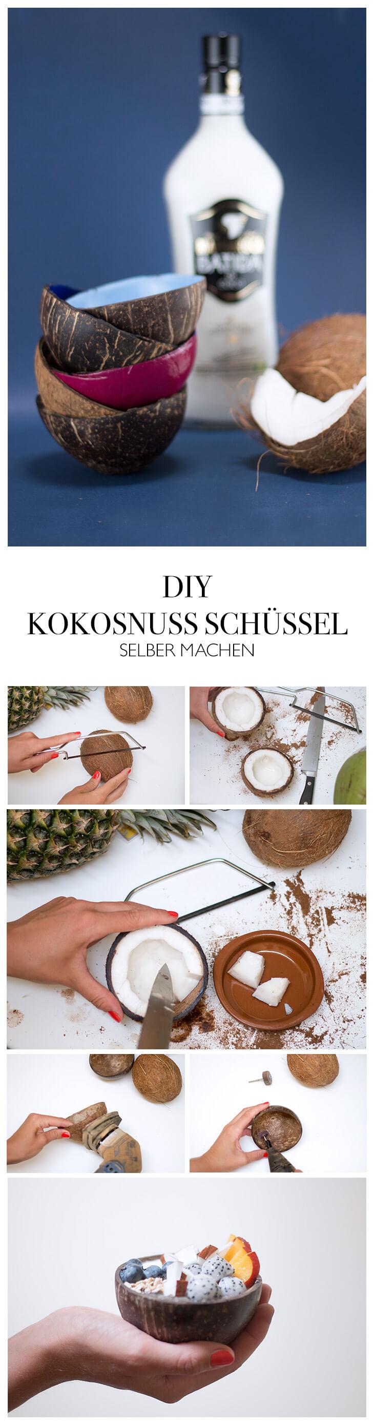 Diy Anleitung Kokosnussschalen Selber Machen