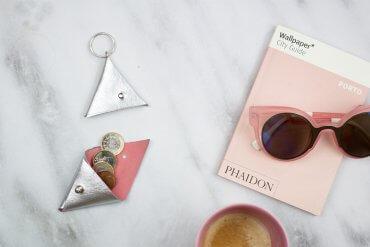 DIY Blog Dreieckstäschchen selber machen - Geldbörse basteln - Geschenkidee