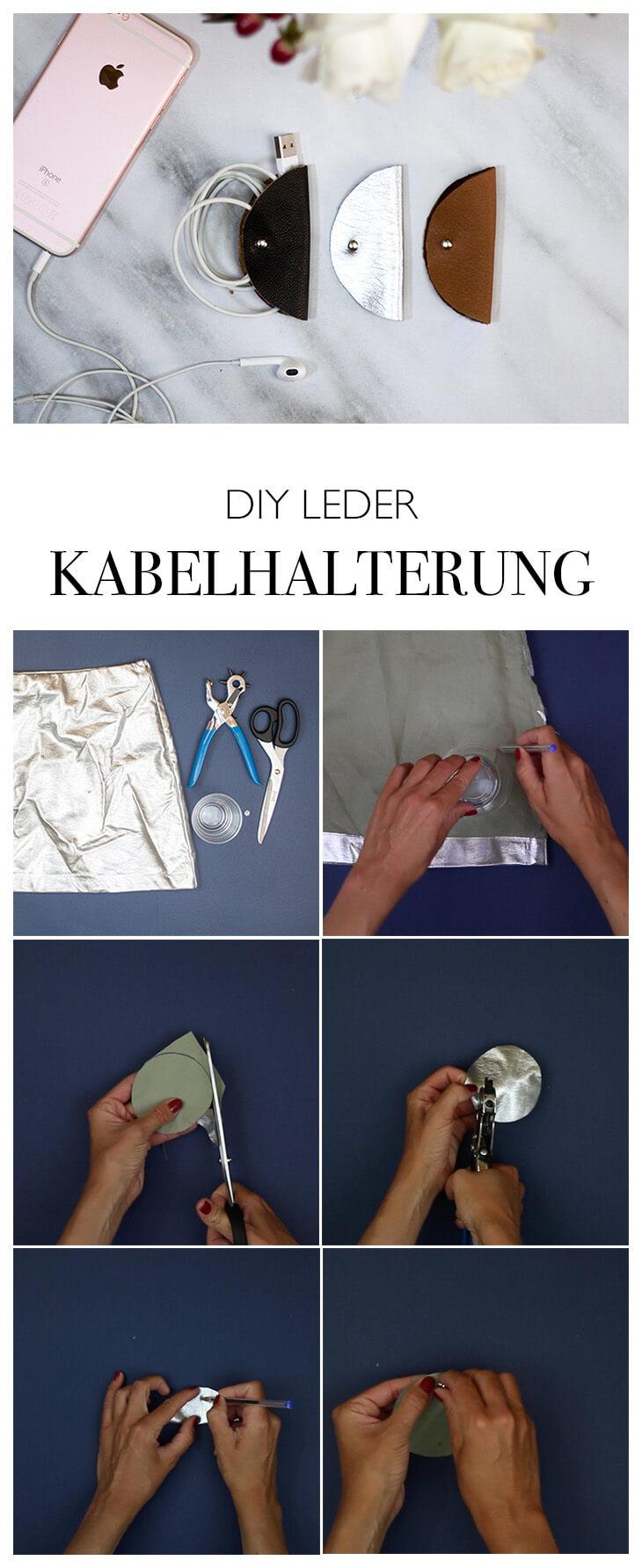 Step by Step Anleitung Kabelbinder basteln - Geschenk einfach selber machen