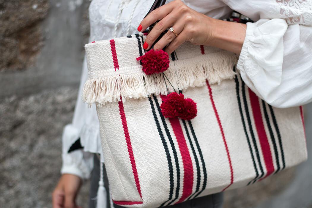 DIY Ikea Hack Fashion Mode Blog - Handtasche - Accessoires selber machen