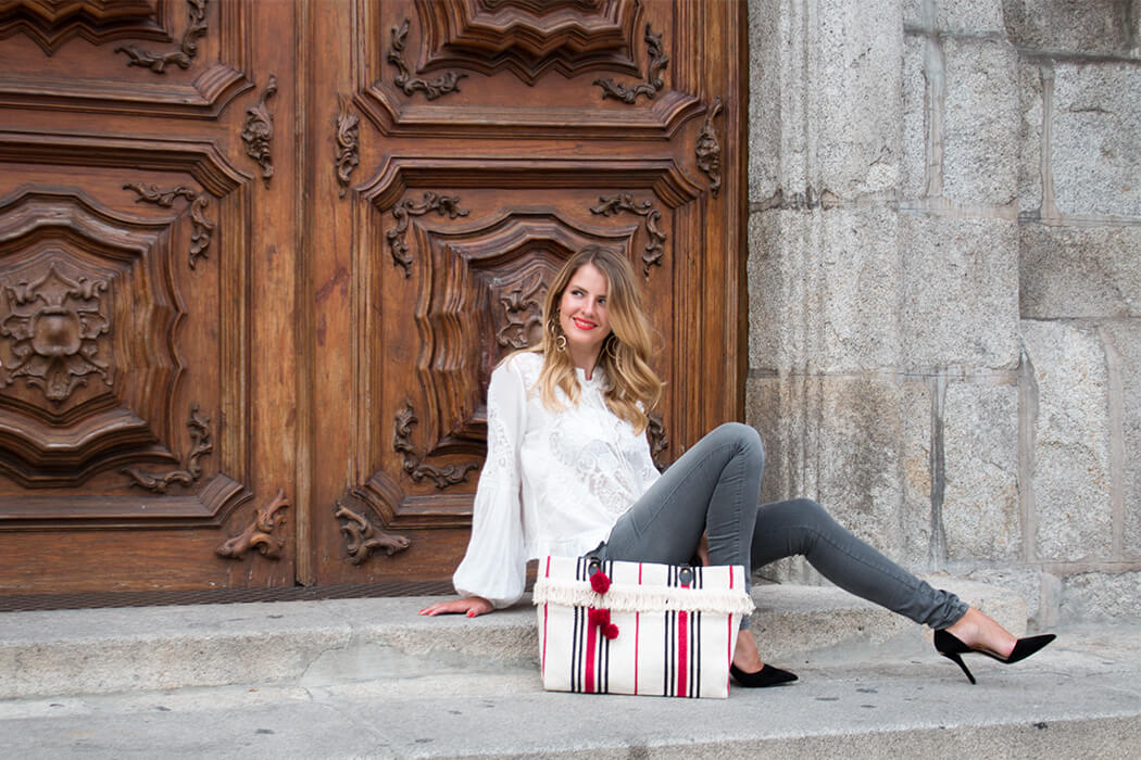 DIY Fashion Blog lindaloves.de Handtasche aus Teppich IKEA Hack selber machen