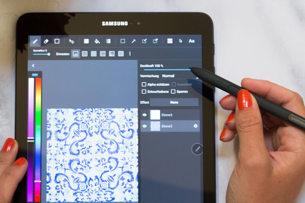 Malvorlage Digitalisieren - Ausmalen für Erwachsene - Mandala free Printable - DIY Blog lindaloves.de