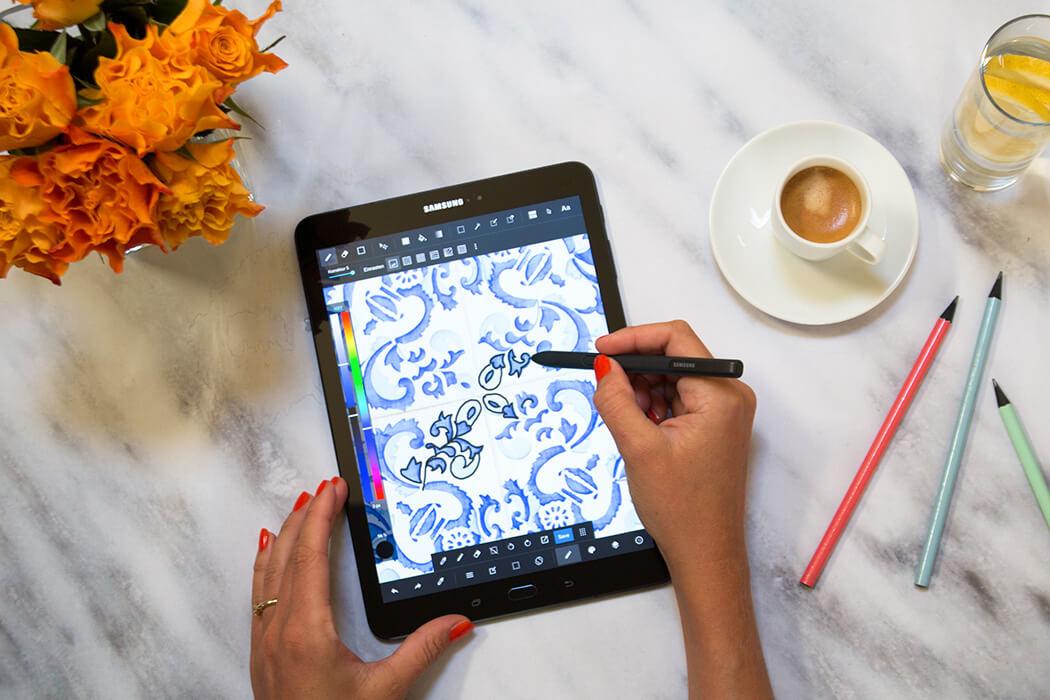 Mandala digitalisieren - Ausmalvorlage für Erwachsene