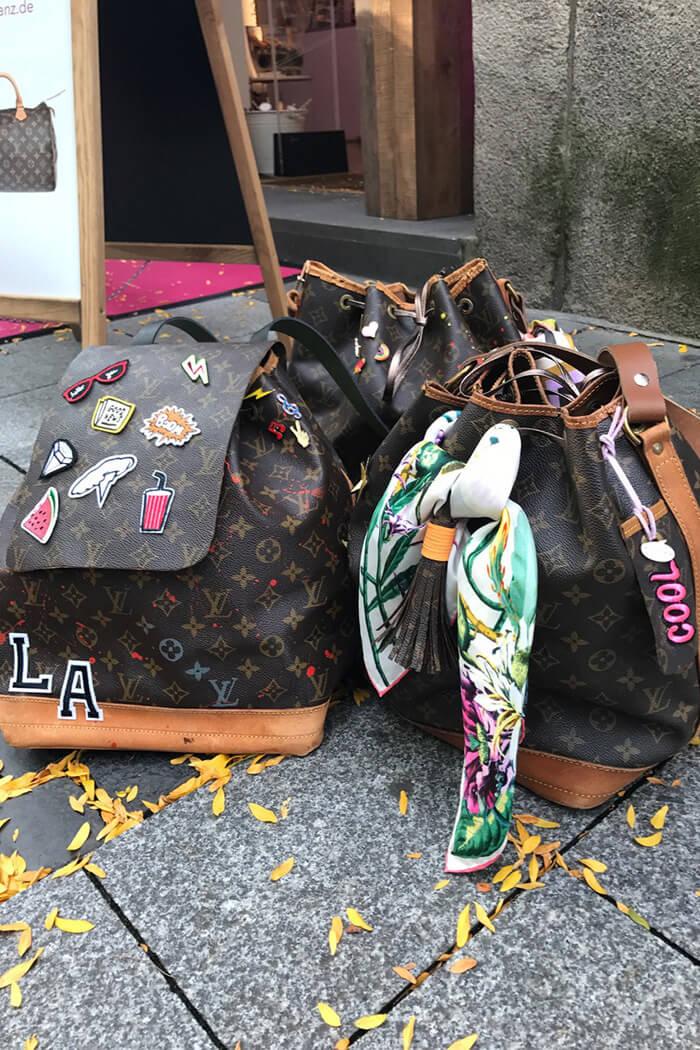 LV Handtaschen Workhshop Patches Ergebnisse