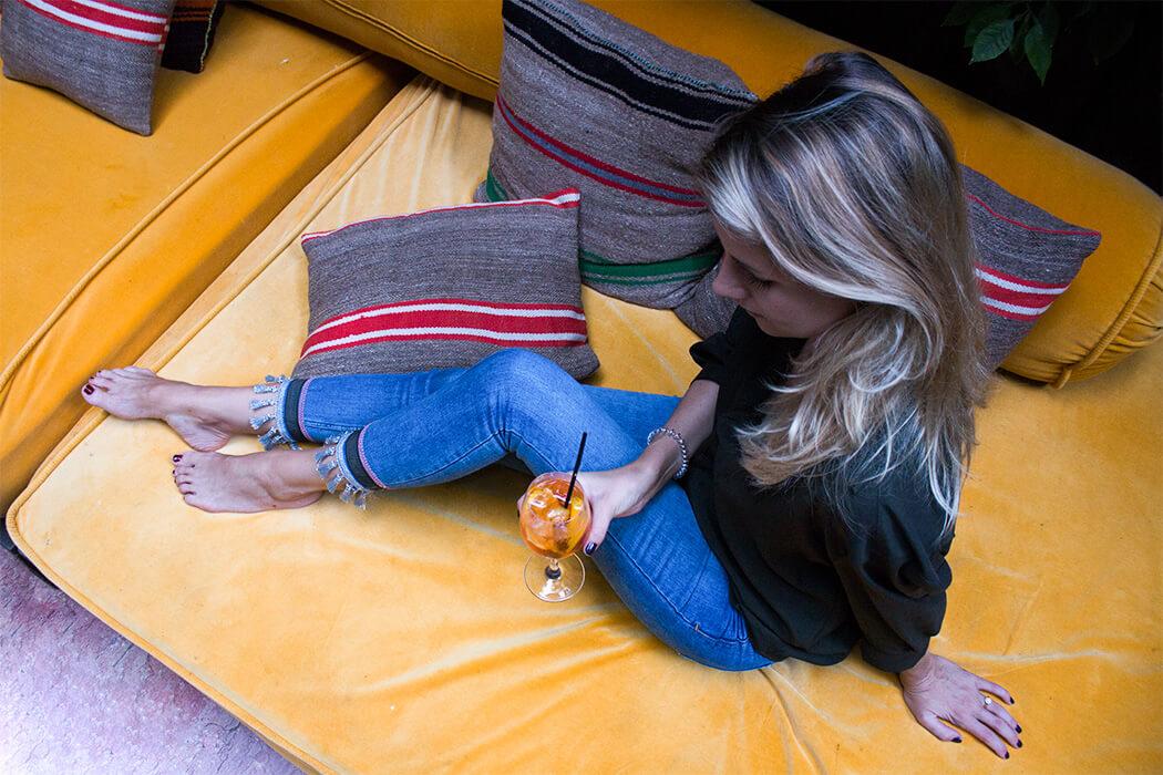 DIY Blog lindaloves.de Hose Quasten Fashion selber machen Mode basteln do it yourself