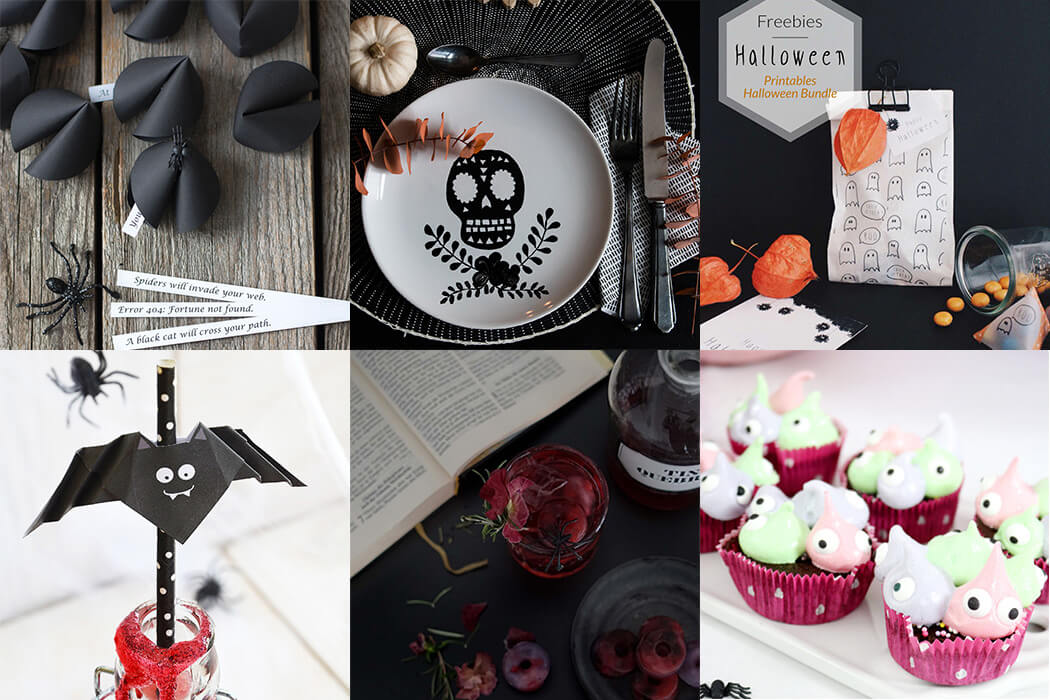 Halloween Diy Ideen Deko Drinks Und Leckerein