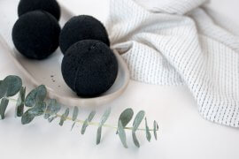 DIY schwarze Badebomben selber machen - Kosmetik DIY Blog lindaloves