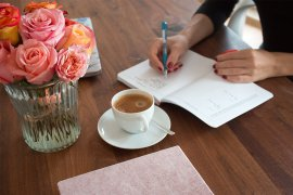 Bullet Journal für Anfänger DIY Blog do it yourself Kalender Organisation Monthly Spread Kreativ Set