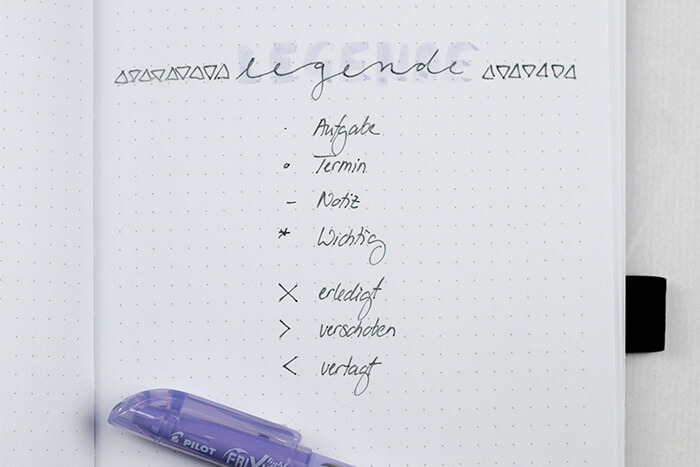 Bullet Journaling Für Anfänger Kalender Organisation