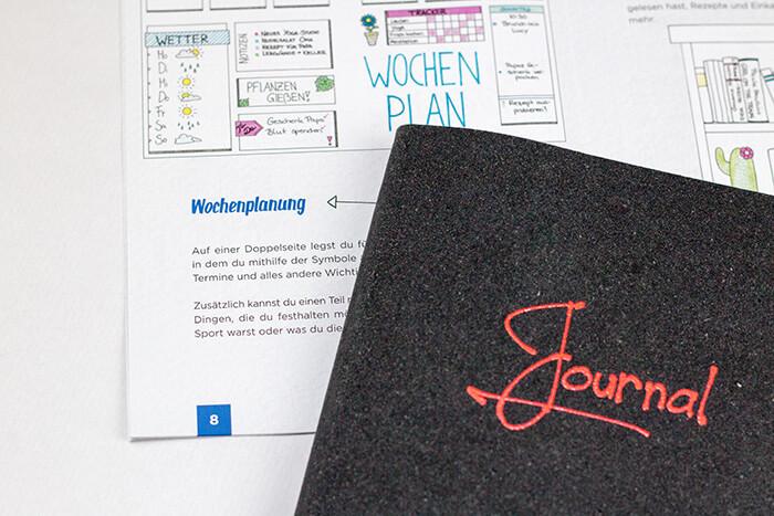 Bullet Journal für Anfänger - Anleitung Stifte - DIY Blog-it-yourself Kalender Organisation