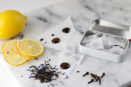 DIY Hustenbonbons selber machen REzept Anleitung Earl Grey Tee Zitrone Honig Winter DIY Blog lindaloves