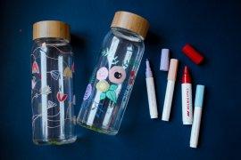Glas Flaschen bemalen - DIY Blog