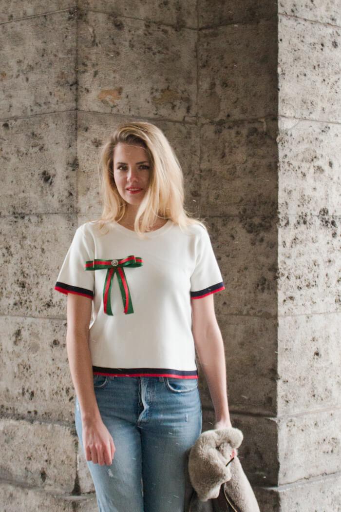Trend Brosch selber machen - Accessoire DIY aus Geschenkbändern - DIY Blog lindaloves.de