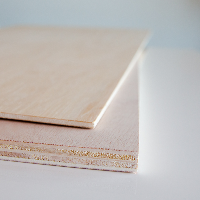 Material Beistelltisch IKEA hack Holzoptik selber bauen
