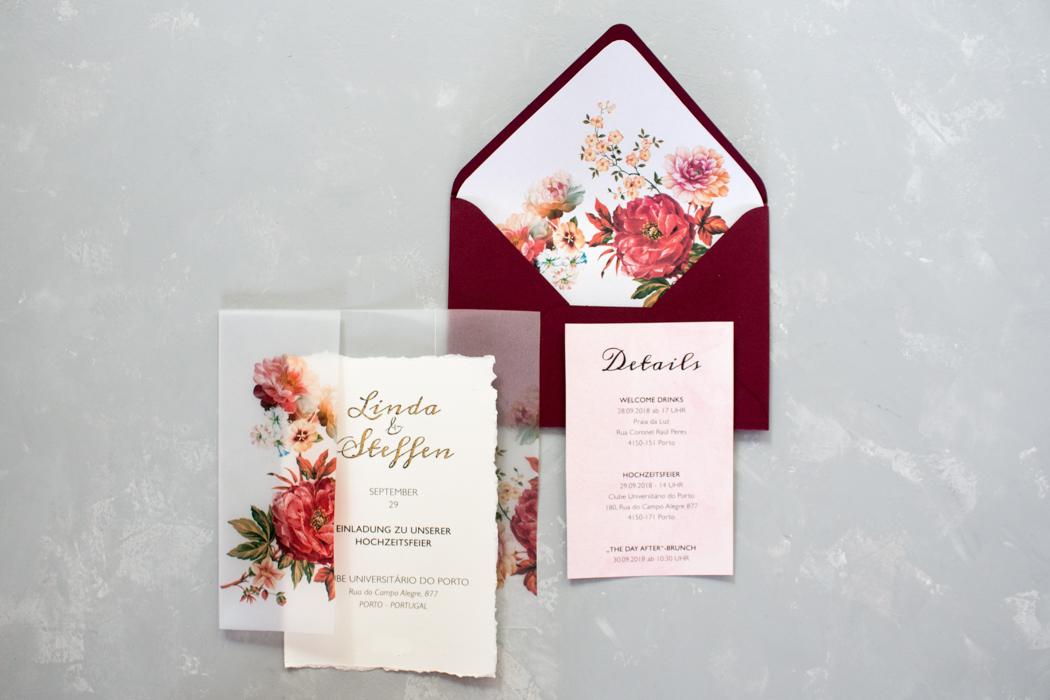 Diy Hochzeitseinladungen Selber Basteln
