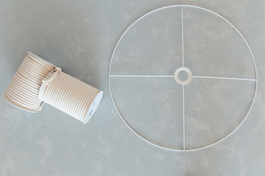 DIY MAKRAMEE LAMPE - IKEA HACK MIT LAMPENSCHIRM