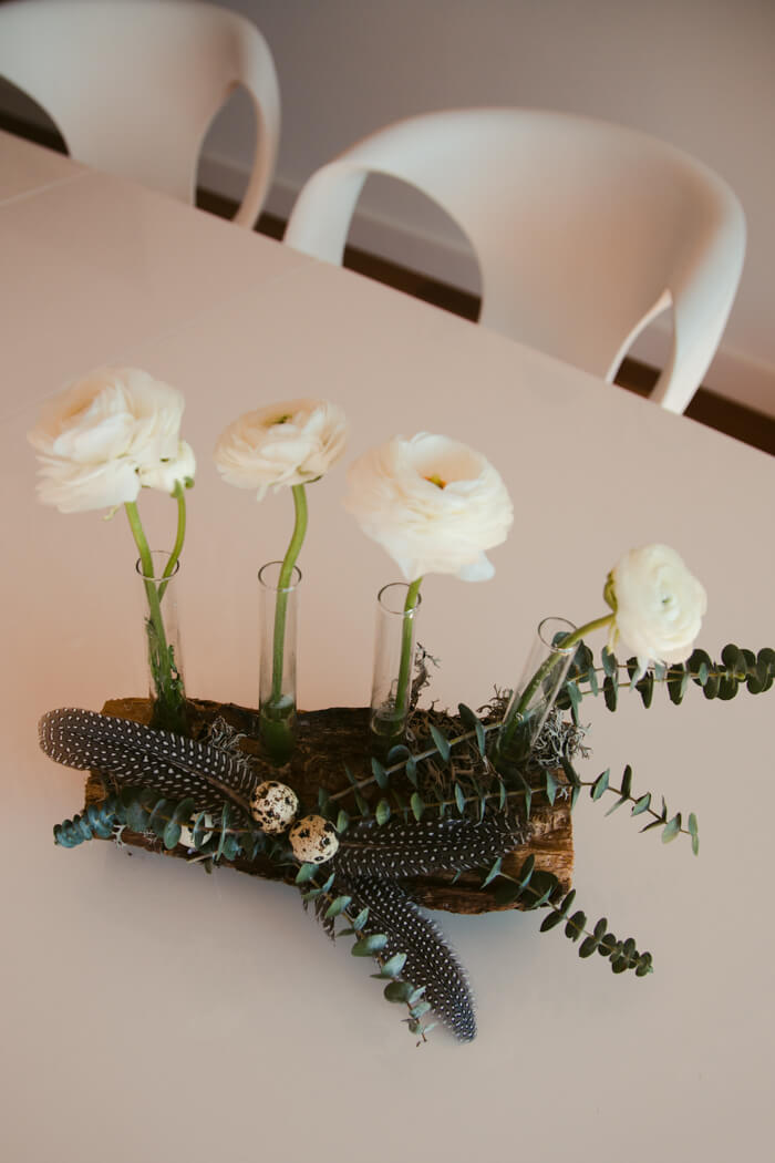 osterdeko mit blumen holz eukalyptus selber machen. Black Bedroom Furniture Sets. Home Design Ideas