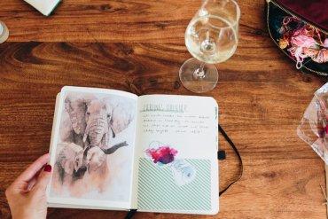 Traveljournaling für Anfänger - Reisetagebuch - Kreativität lernen